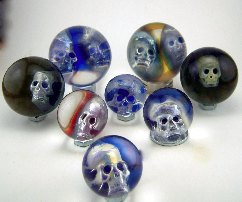 ElSaboGlass: Skull marbles
