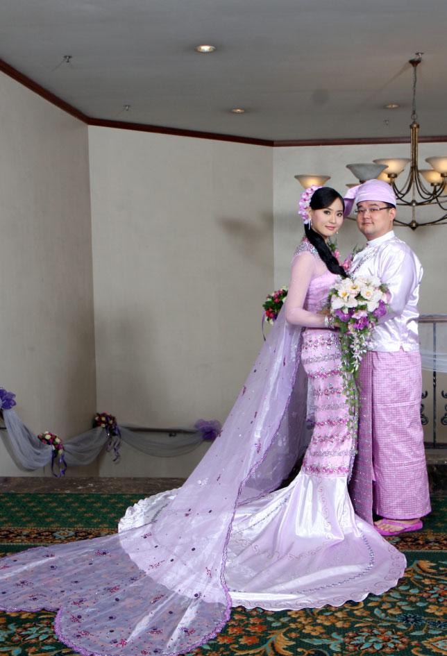 Myanmar Traditional Wedding Dress – fashion dresses