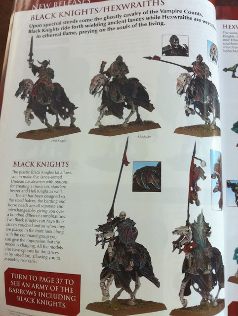 Warhammer Black Knight miniature picture photo