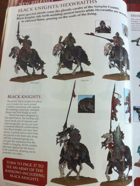 Warhammer Black Knight miniature picture photo