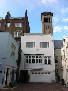 Clock Tower of Russian Orthodox Church, Ennismore Gardens, London SW7