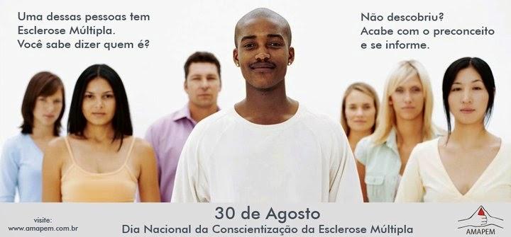 Dia nacional de conscientização sobre a esclerose múltipla