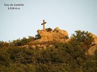 Zoom a la Creu de Castellar