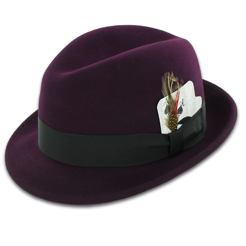 The Headwear Association  ZZ WARD for Broner Fedora Collection Now ... 5ff055723515