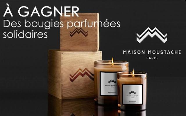 20 bougies Maison Moustache
