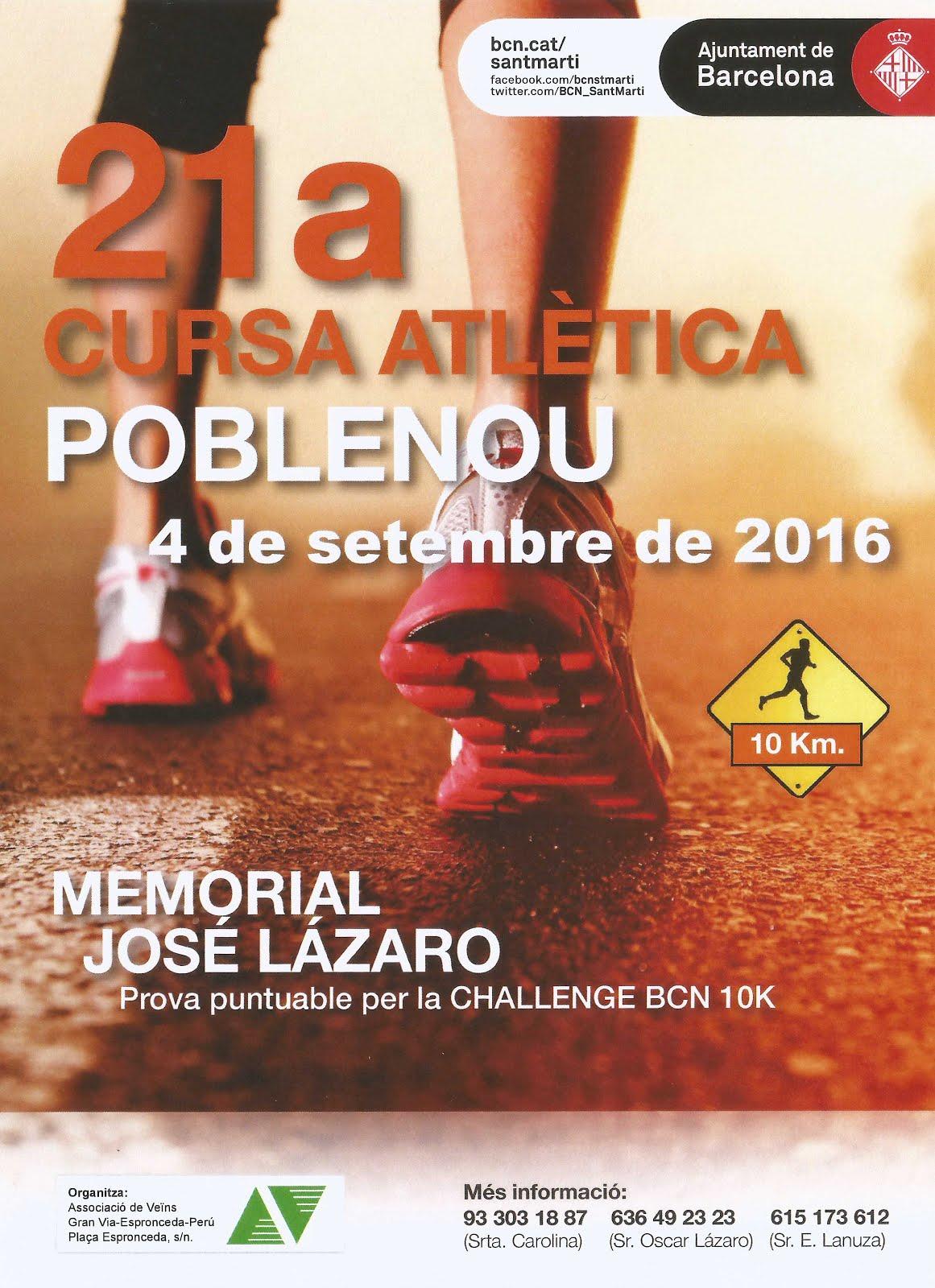 Cursa Atlética Poble Nou'16 (04/09/16)