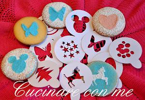 Stencil per biscotti fantasia 1A