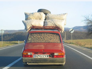 Funny picture of auto roof