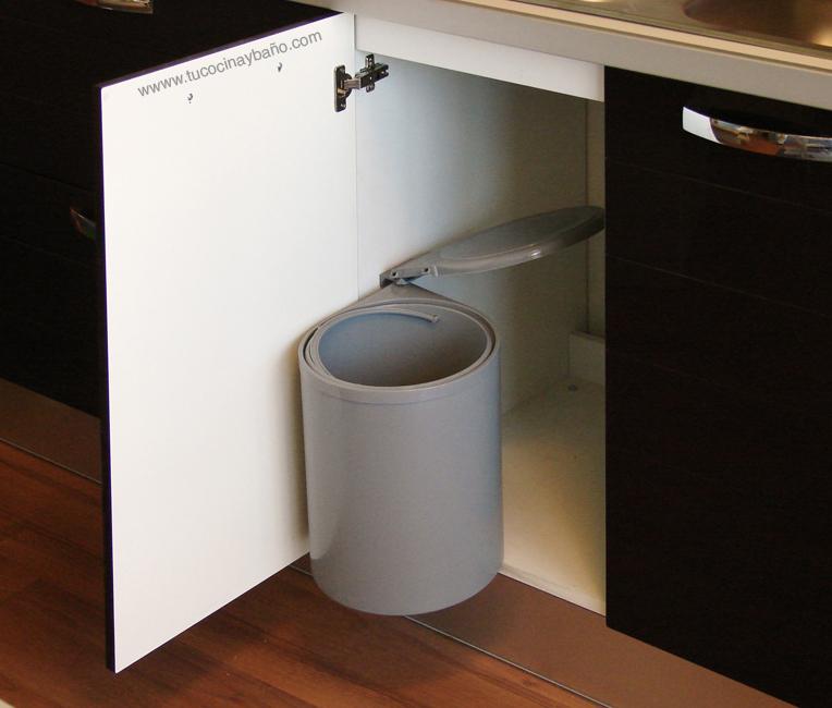 cubo basura cocina automatico tapa