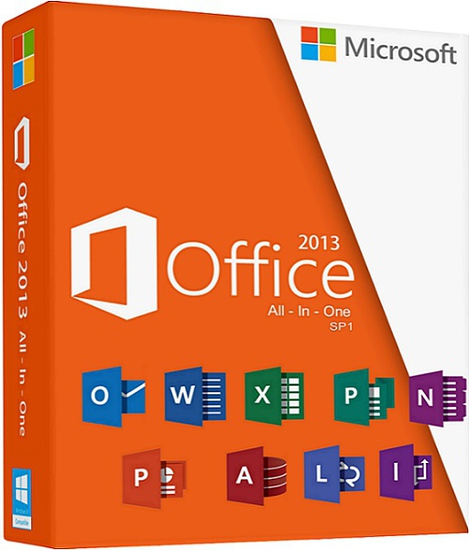 Microsoft Office Professional Plus SP1 2013