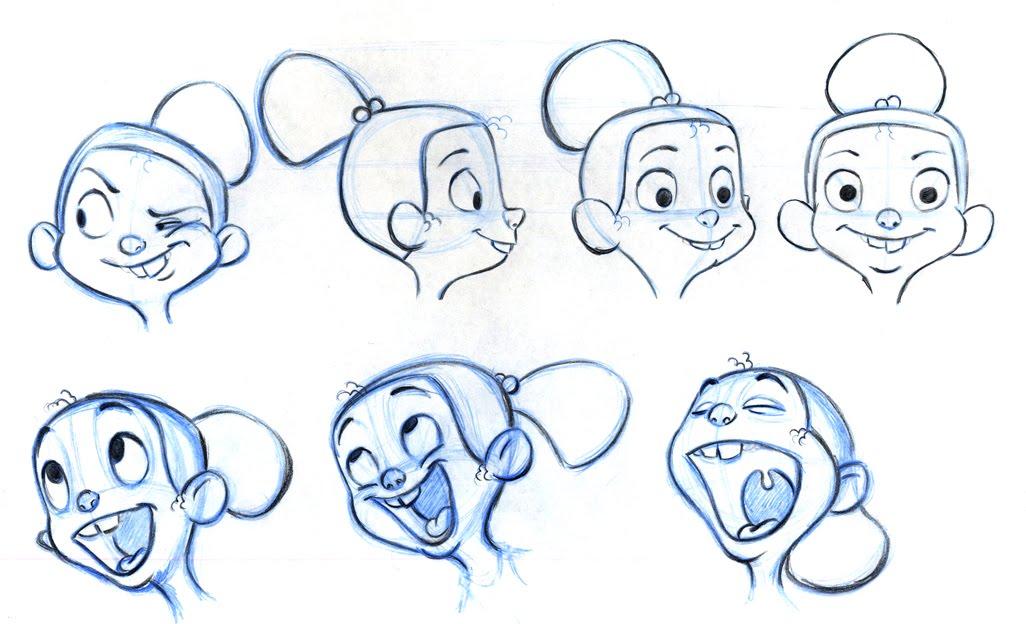 Disney Character Design Internship : Foro hablemos de disney corto chalk el garaje