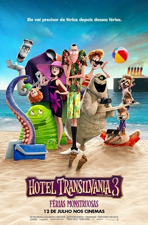 Hotel Transilvânia 3 - Férias Monstruosas BluRay Filmes Torrent Download capa