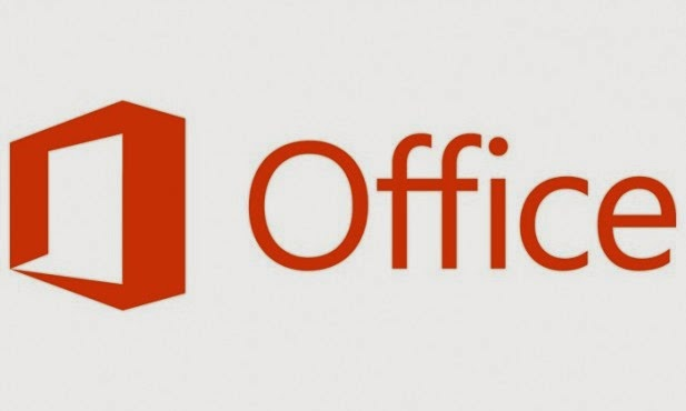Microsoft office logo orange