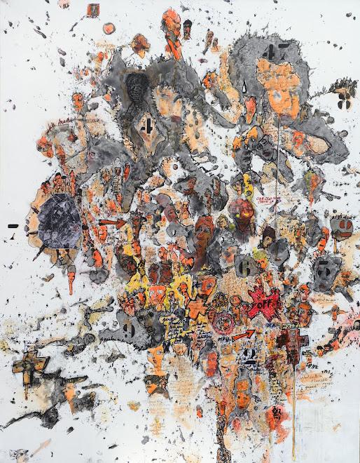 Guignol's Band IX 146 cm x 114 cm