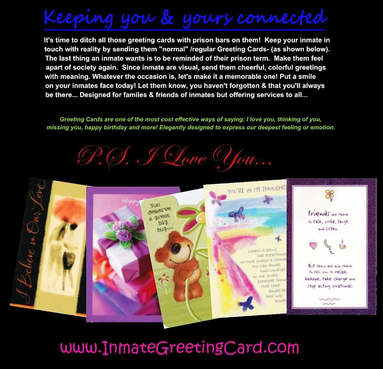 Inmate Greeting Cards