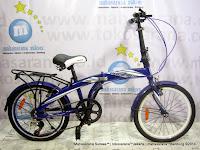 Sepeda Lipat Pacific PIP-20-2980-HT 7 Speed 20 Inci