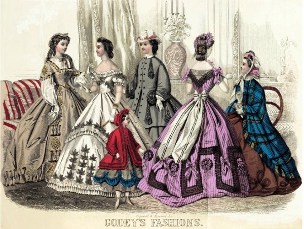 Flashback Summer: Life Advice for Young Southern Women - Godey's Lady's Book 1860s
