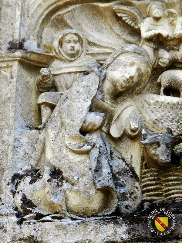 BALLEVILLE (88) - Retable (XVIe siècle) - Nativité