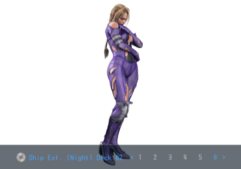 Death by Degrees Nina Williams CG Model