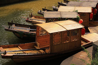 Boats, Tiger Hill, Suzhou, China