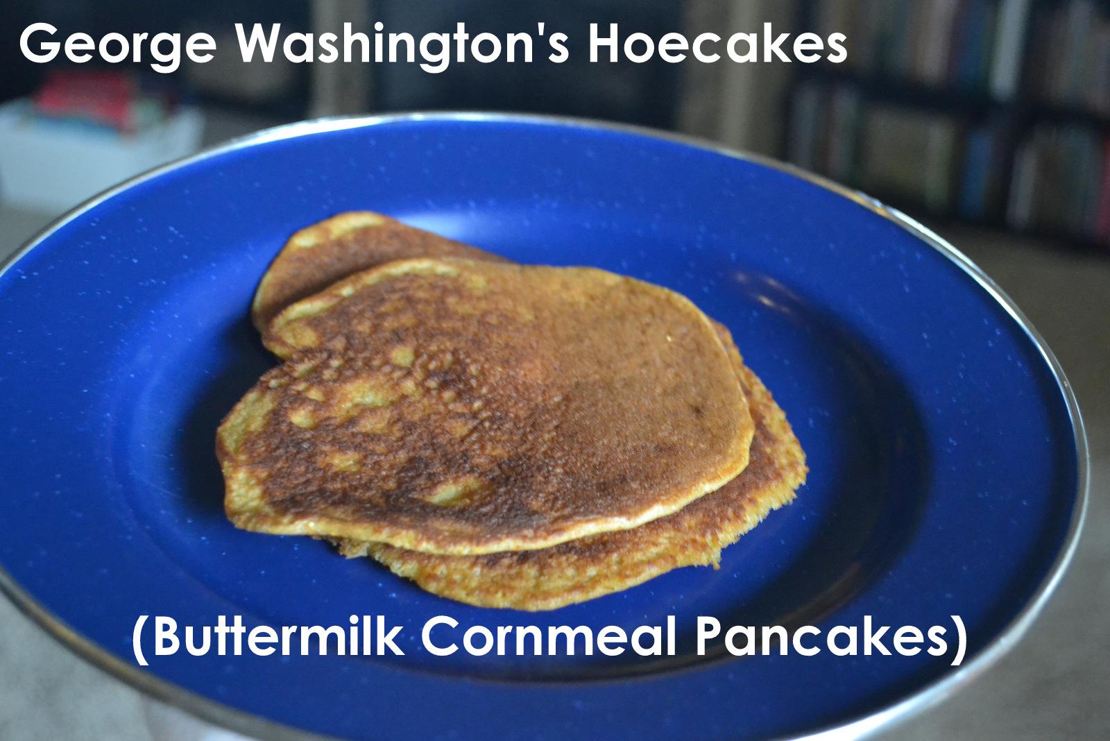 ThriceTheSpice: George Washington's Hoecakes (Buttermilk ...