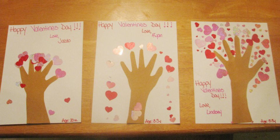 Valentines Day Crafts 2 Part - 29: Valentineu0027s Day : Lets Spread The Love !!! ~ Puttiu0027s World -kids-activities