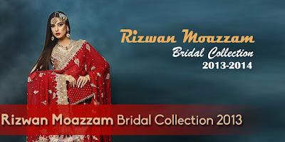 Rizwan Moazzam Bridal Wear Collection 2013-2014