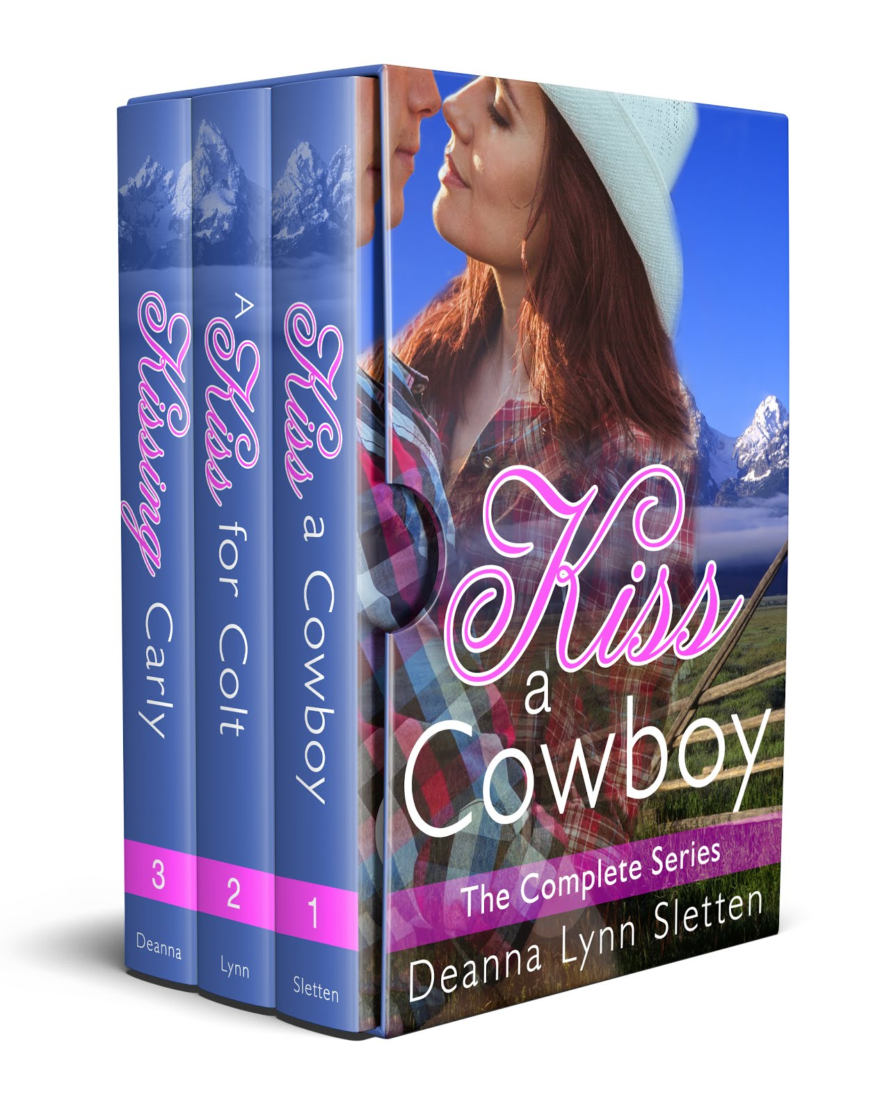 Kiss a Cowboy Boxed Set Books 1-3