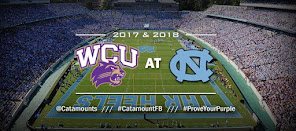 Cats play at Carolina in 2017 & 2018