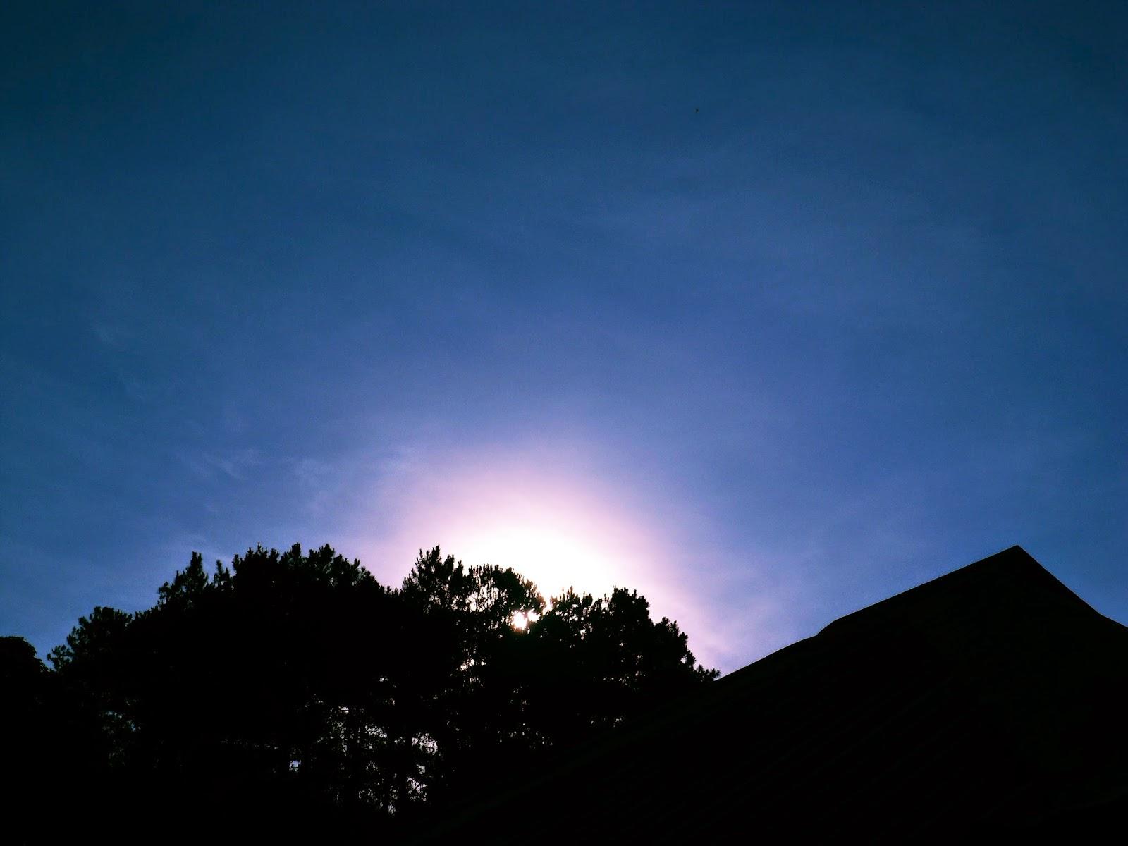 sunrise at Baguio