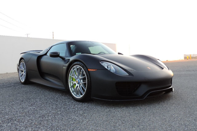 porsche 918 spyder black. photo gallery porsche 918 spyder black