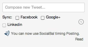 SocialBa! (Publish Sync) sur Twitter