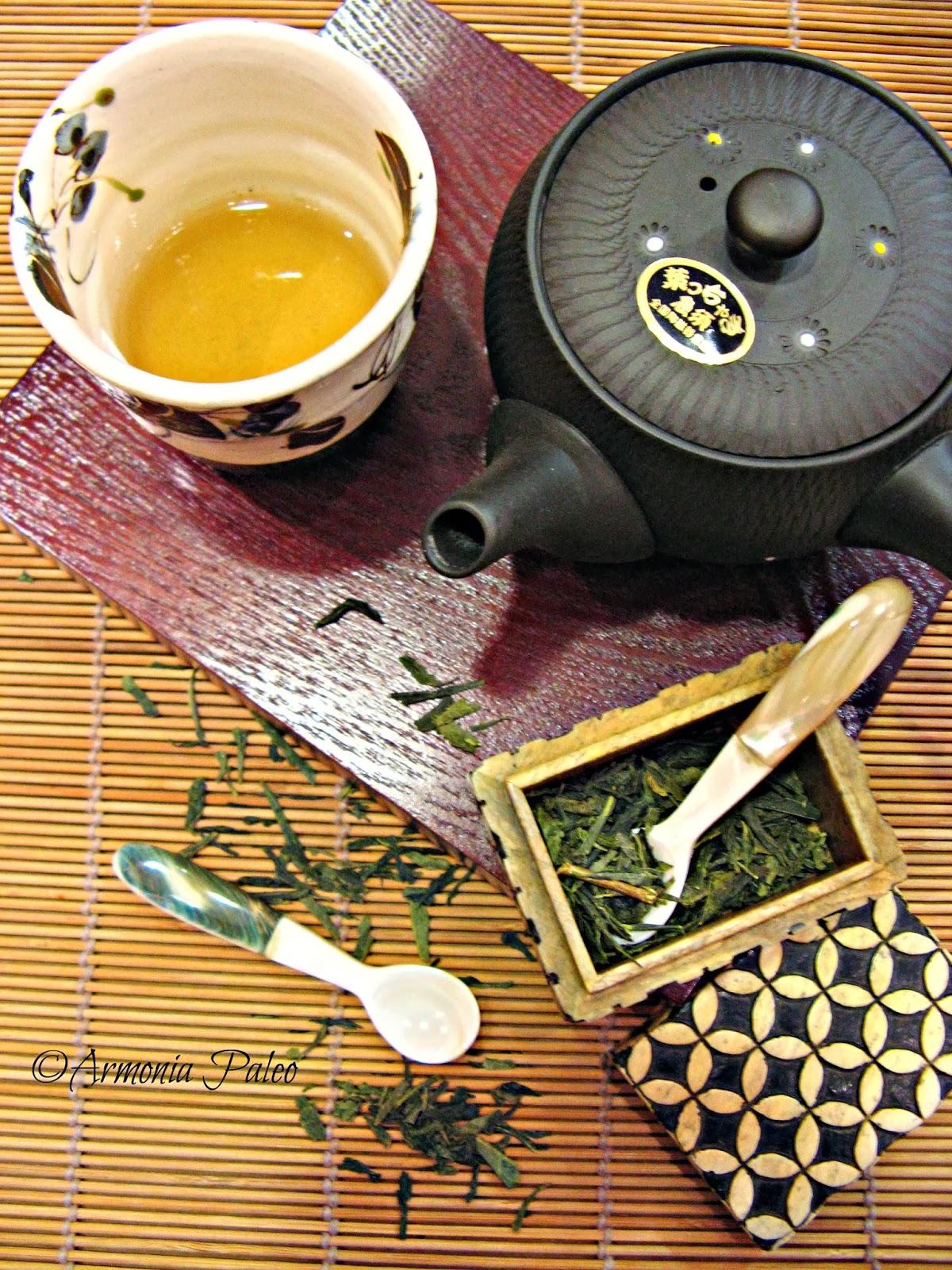 Tè Verde Bancha di Armonia Paleo