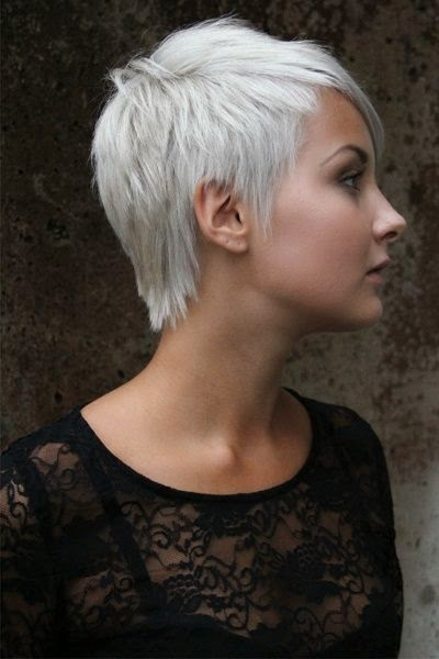 Platinum short haircuts gallery urmus Gallery