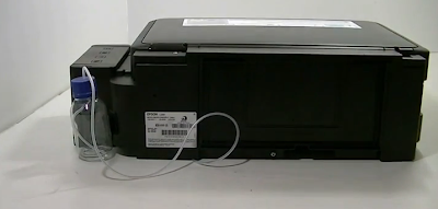 impresora con drenaje de tinta completo epson l355