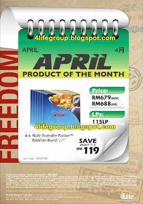 Product Of The Month - April 2012