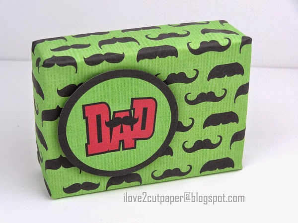 Father's Day gift, Dad topper, moustache digital papers