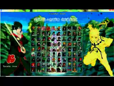 Download The Game Naruto Mugen 2012