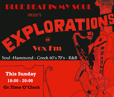 Blue Beat In My Soul pres. EXPLORATIONS @ Vox Fm