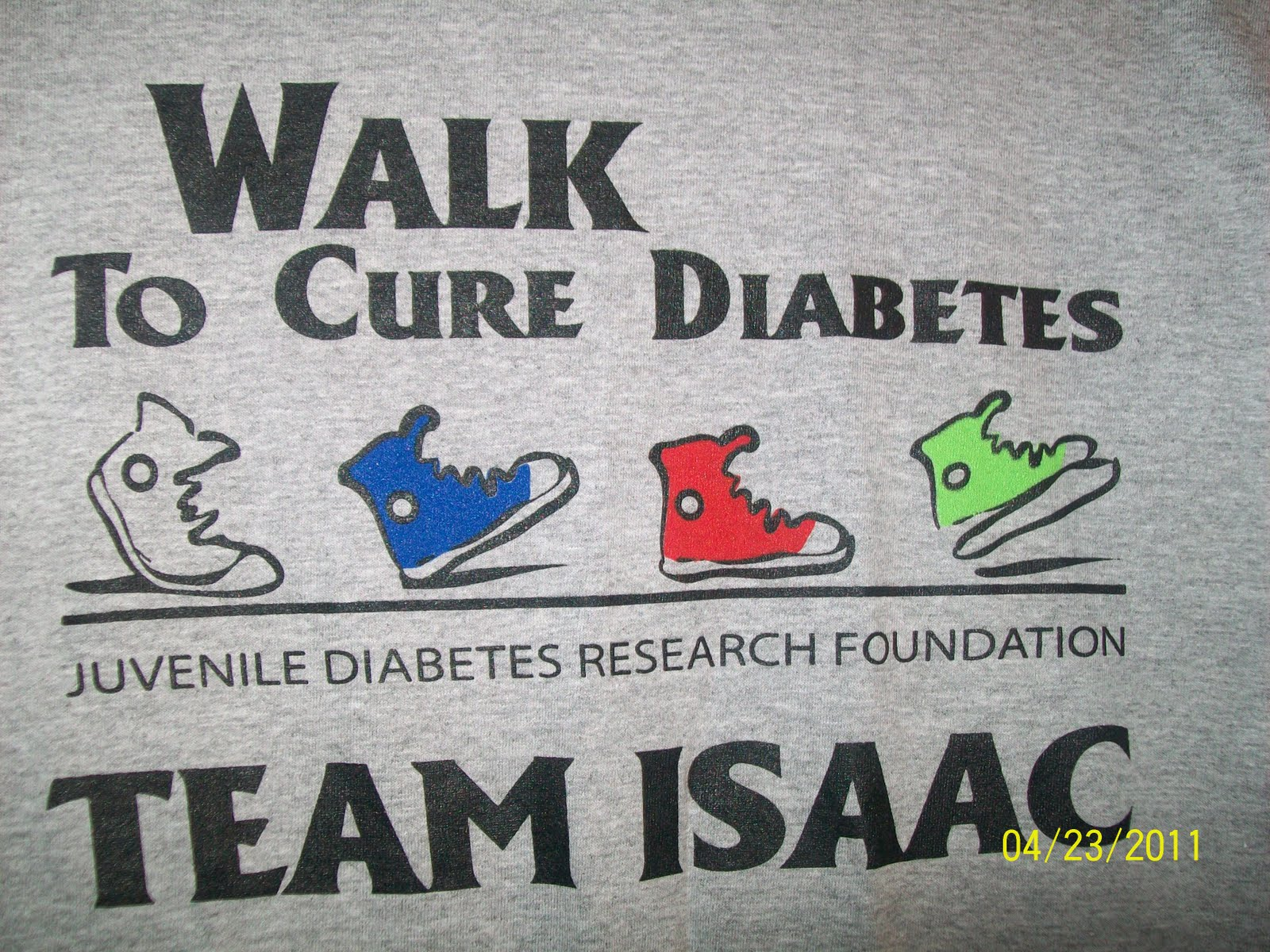 God is good suprises walk t shirts for Jdrf one walk t shirts