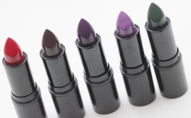 Makeup revolution Atomic lipstick collection