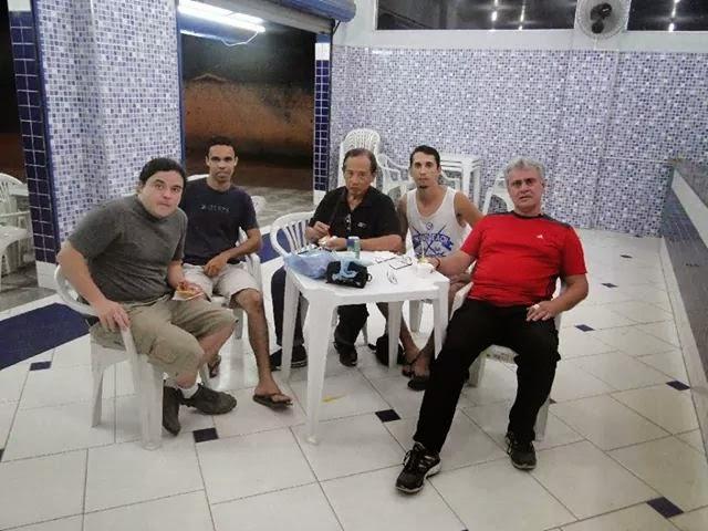 Moyses com Grand Tuhon Leo Gaje e participantes