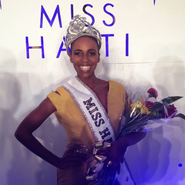 Miss Haiti 2014 winner Carolyn Desert