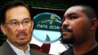 Datuk Seri Anwar Ibrahim saman Papagomo