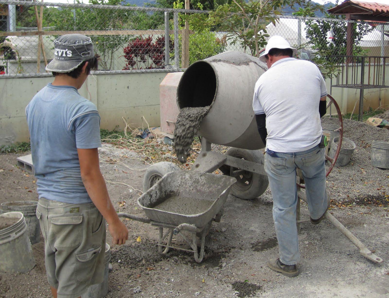 Из чего сделать бетон