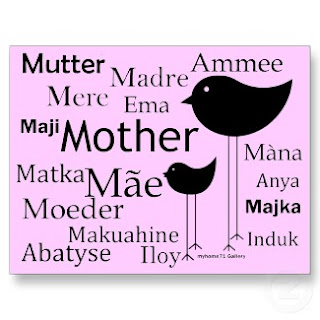 mother in different languages.