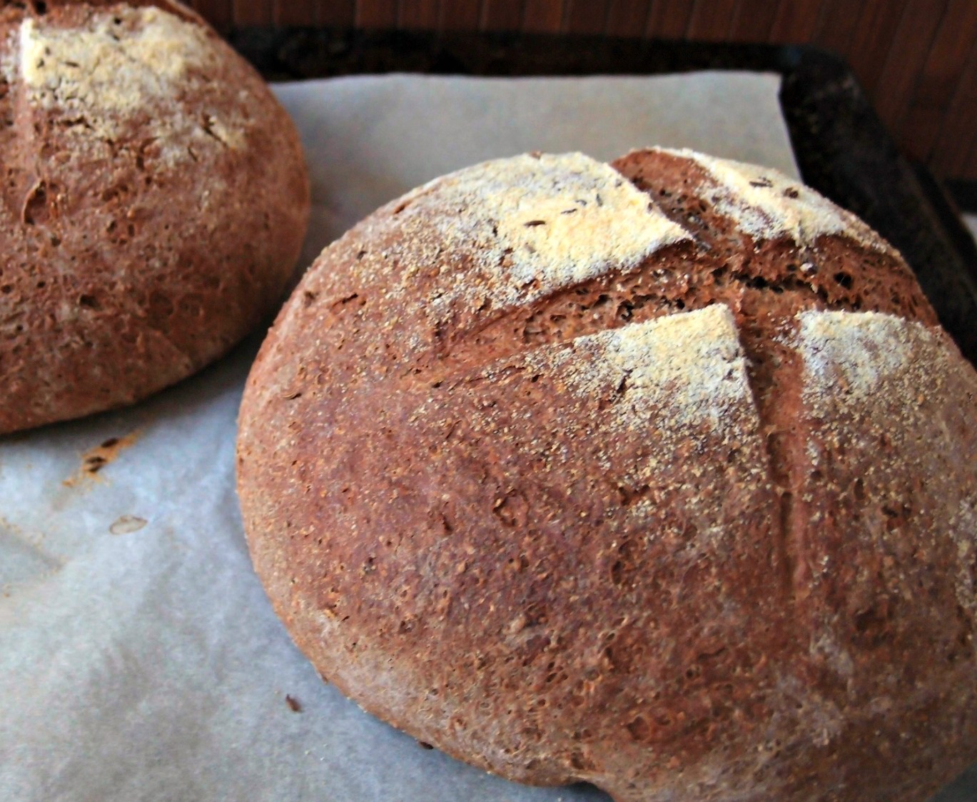 Milk and Honey: Russian Black Bread