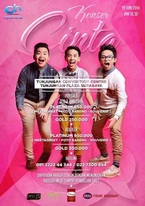 Konser Cinta CJR di Surabaya