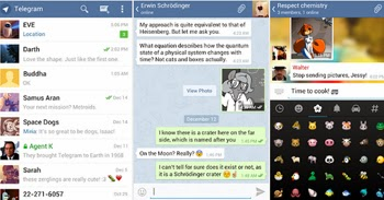 Envia mensajes gratis desde Telegram con Android