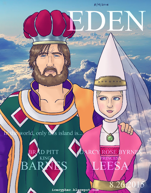 Eden, king Barnes and princess Leesa